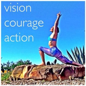 VISION COURAGE ACTION MANIFESTATION Group Summer Session